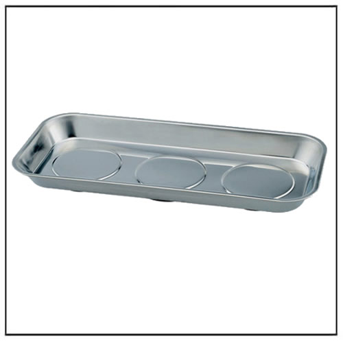 Stainless Steel Triple Magnetic Tray