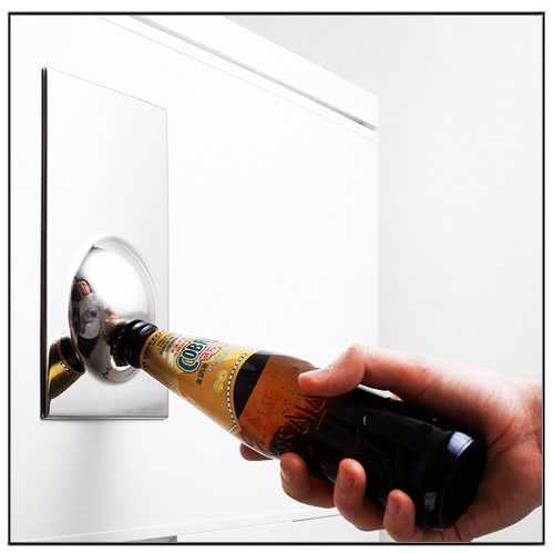 Stainless Steel Magnetic Bottle Opener