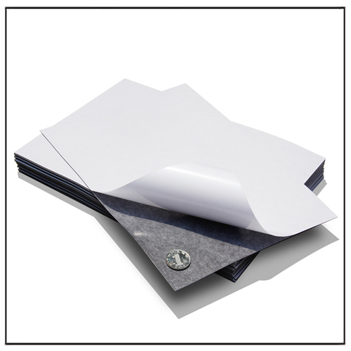 A3 Size 0.7mm Self Adhesive Flexible Magnet Sheets