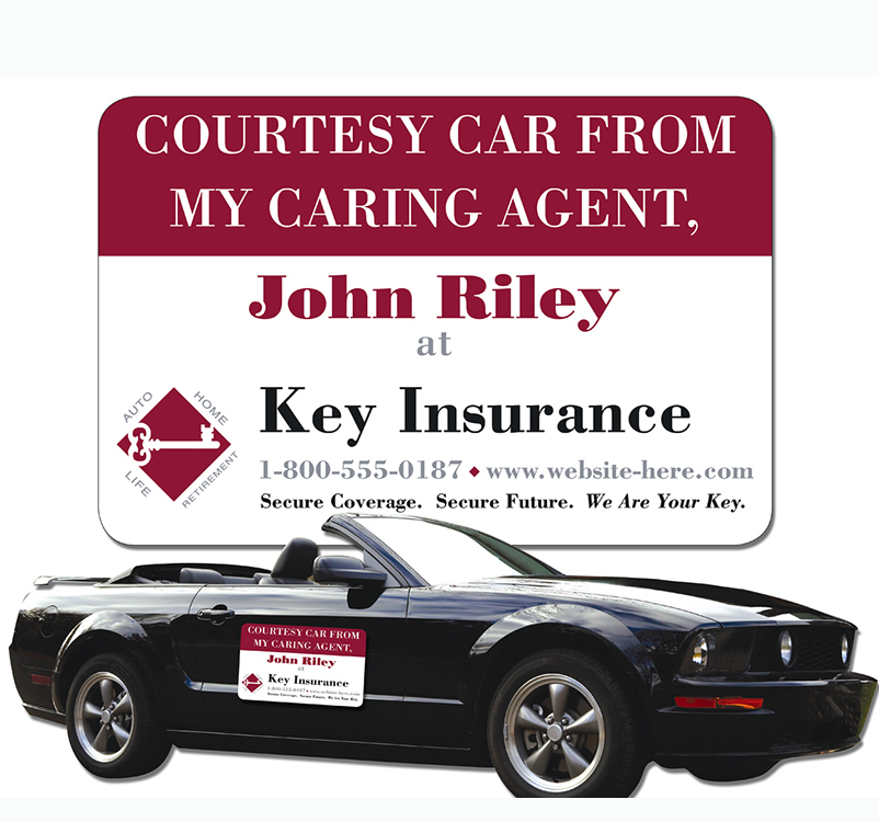 Personalized Car Magnet Sign Magnets By HSMAG - Custom car door magnet signs