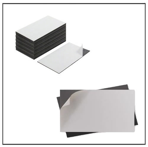 Magnetic Business Cards with Adhesive