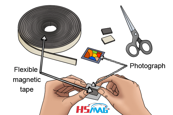 How to use flexible magnetic tape