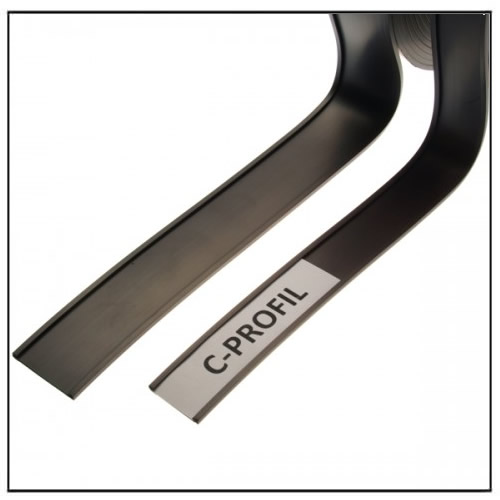 Magnetic C-profile Strip 10mm width
