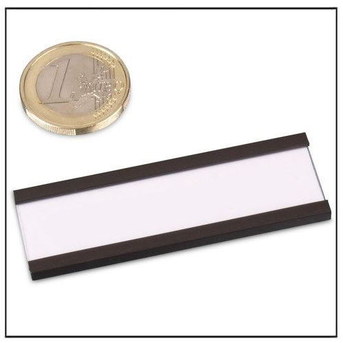 Magnetic label holder c profile 60 x 20 mm