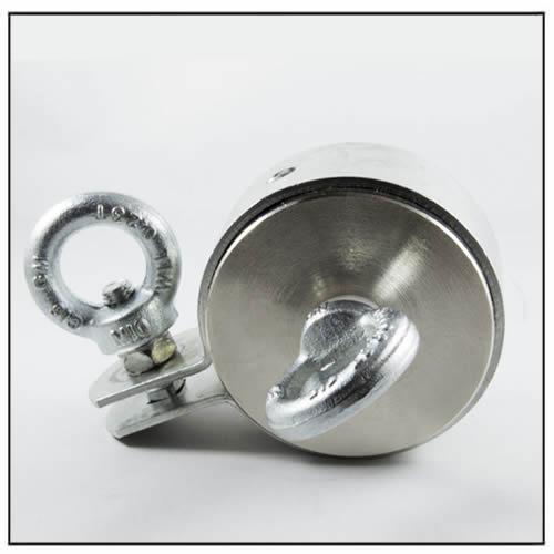 Double Side Super Strong Eyebolt Neodymium Magnet
