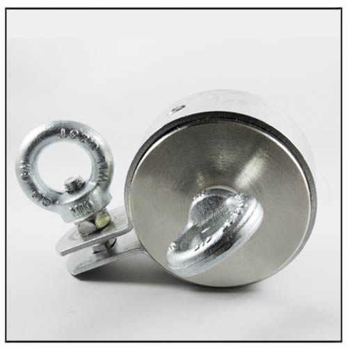 Double Side Super Strong Eyebolt Neodymium Magnet