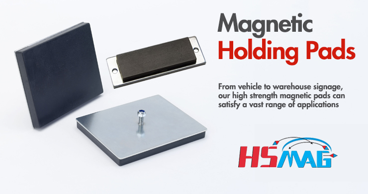 Magnetic holding pads