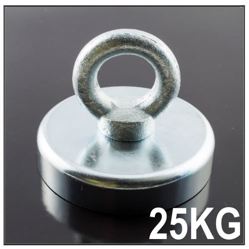 Metal Detector Treasure Handle Pot Magnet 25KG