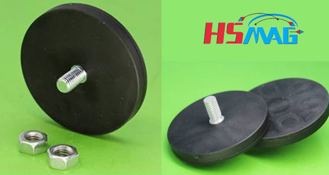 Rubber Coated Neodymium Magnetic Assembly