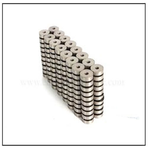 SmCo Countersunk Ring Magnets