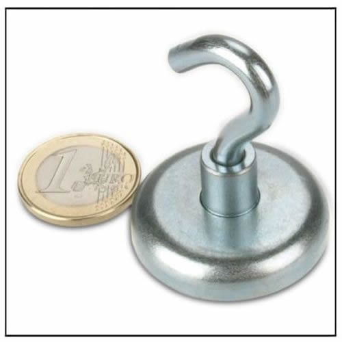 Extra Power NdFeB Magnetic Hook 41KG