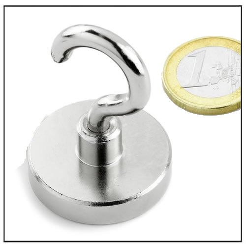 Extra Powerful Neodymium Hook Pot Magnet 34KG