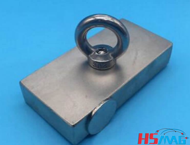 N52 super strong rare earth block fishing neodymium magnet for Magnet fishing finds