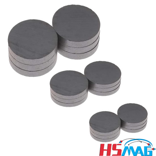 Disc Sintered Ferrite Mags  Mags By HSMAG
