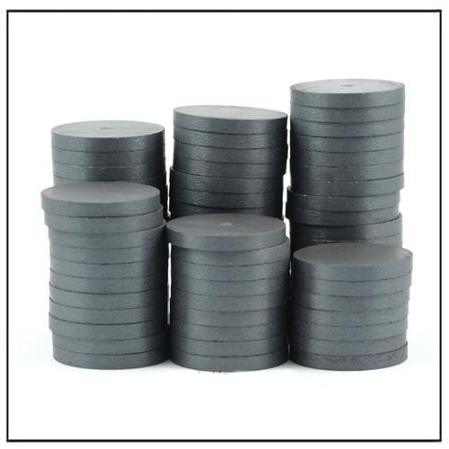 Y30 Y30BH Y35 Disc Ferrite Ceramic Magnets
