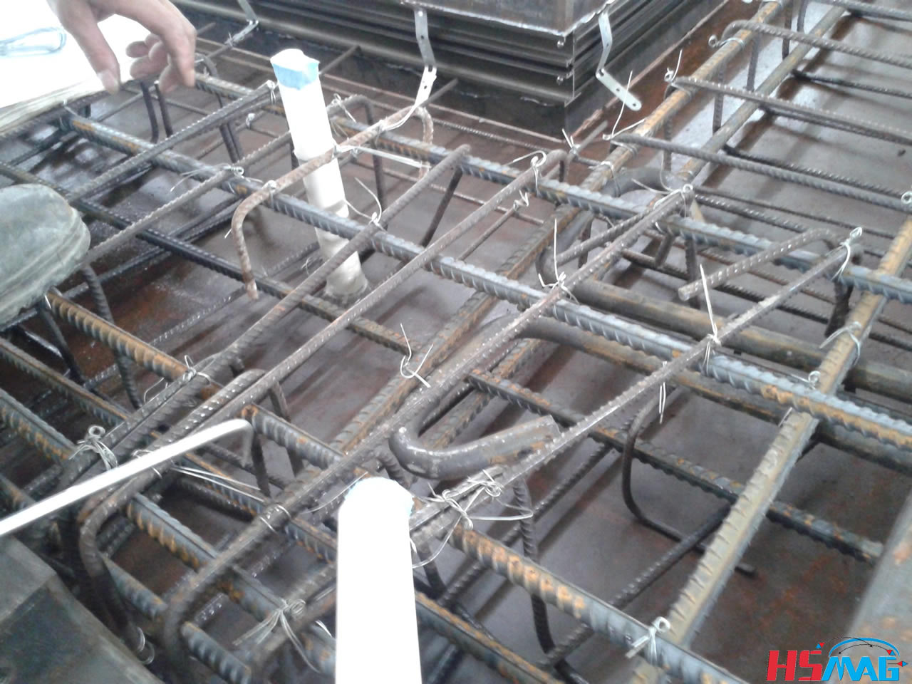 Embedded Pvc Pipe Fixed Magnet