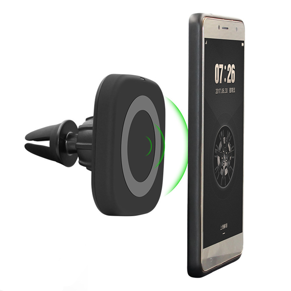 Magnetic Qi Wireless Charger Black