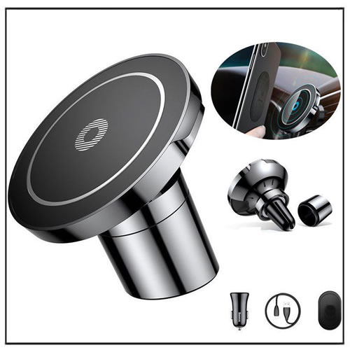 Wireless Magnetic Charger Holder Car Mount