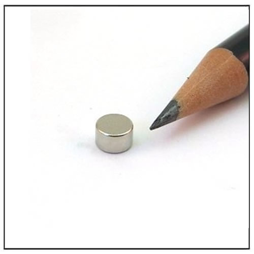 Circular Permanent Magnet 5 x 3mm N40