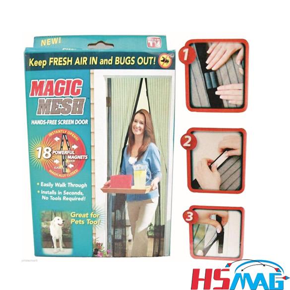 As Seen On TV Hands Free Screen Door Magic Mesh