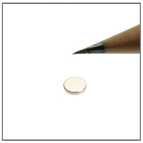 Round Neodymium Magnet 5 x 1mm N45
