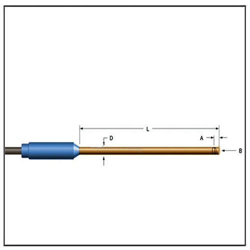 Gaussmeter Axial Probes