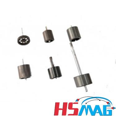 Oil pressure gauge magnetic assembly