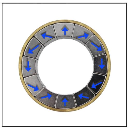 Cylindrical Halbach Array Magnet