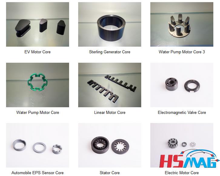 SMC - Soft Magnetic Composite