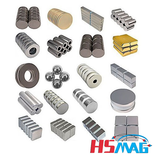 THE SHAPES OF RARE EARTH MAGNETS