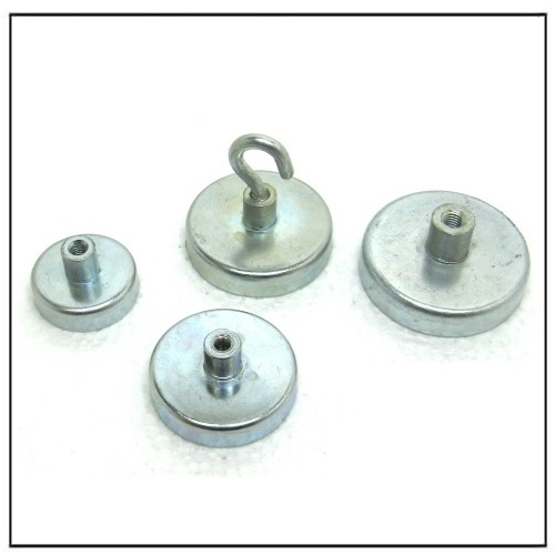 Magnetic Pot Holding System With Female Thread