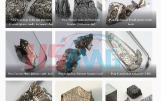 Rare Earth Elements Metals Photo