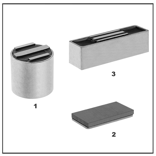 C8 Ceramic Disc Rectangle Encased Magnets
