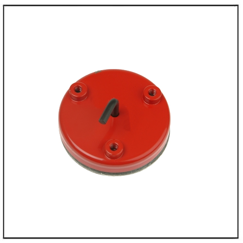 Ferrite Clamping Magnet with M6 Threaded 3 Holes 46mm