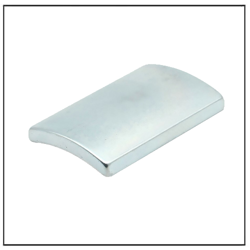 N42H Strong Neodymium Arc Permanent Magnet for Rotary Encoders