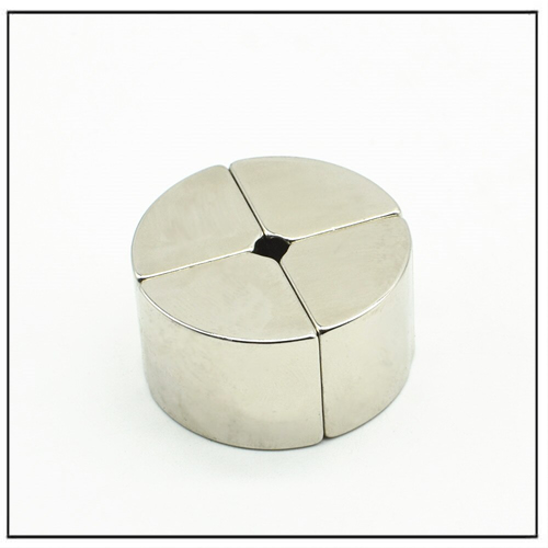 N45H NdFeB Arc Segment Hollow-Shaft Encoder Magnet