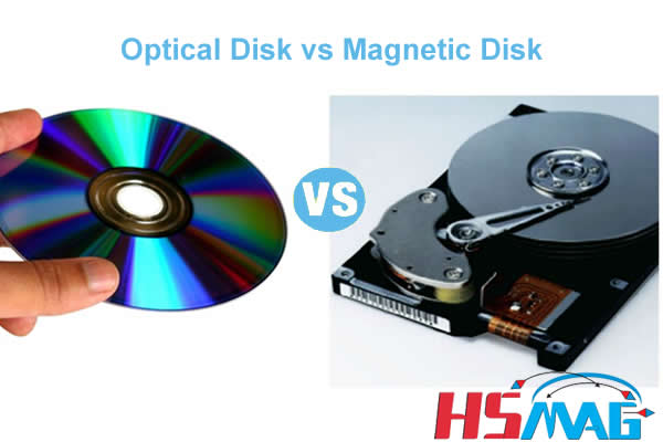 Optical Disk vs Magnetic Disk