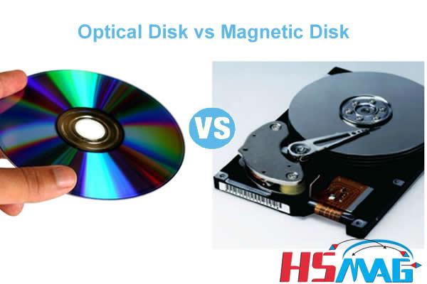 Optical Disk vs Magnetic Disk