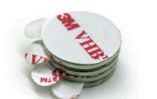 Magnet with 3M sticker Manufacturer