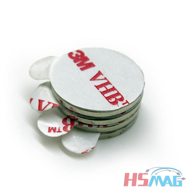 Magnet with 3M sticker Manufacturer