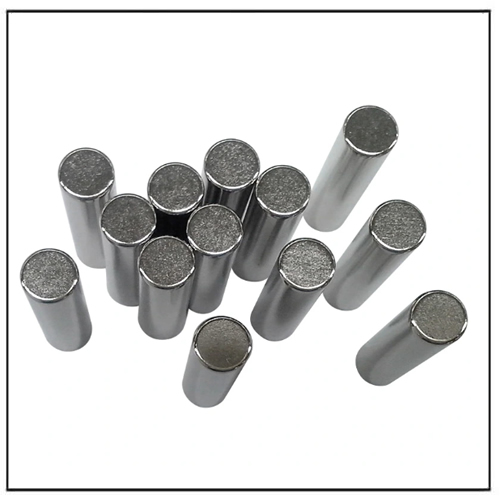 Sintered Nd-Magnet Cylindrical N52 Neodymium Magnets