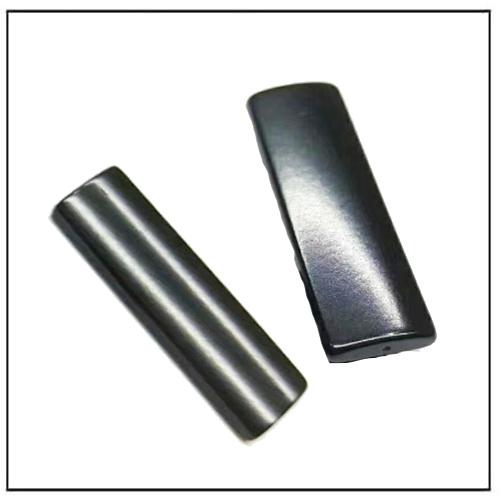 Black Gray 10-30μm Epoxy Plated Arc Motor Metric Magnets