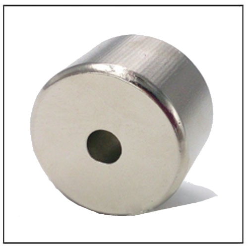 Sintered Neodymium Multipole Orientation Ring Magnet 40UH