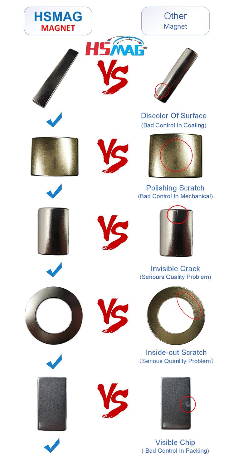 HS Magnets vs Other Magnets