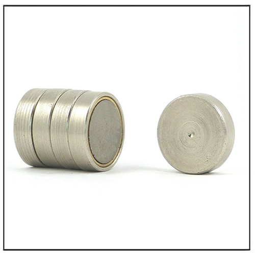 Shallow Pot SmCo Magnet High Temp Press fit Anchoring