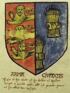 Chester's Tudor Arms (1580)