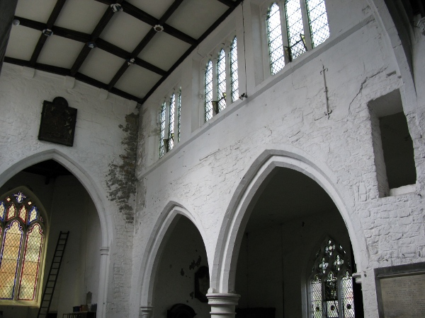 The interior of St. Martin-cum-Gregory