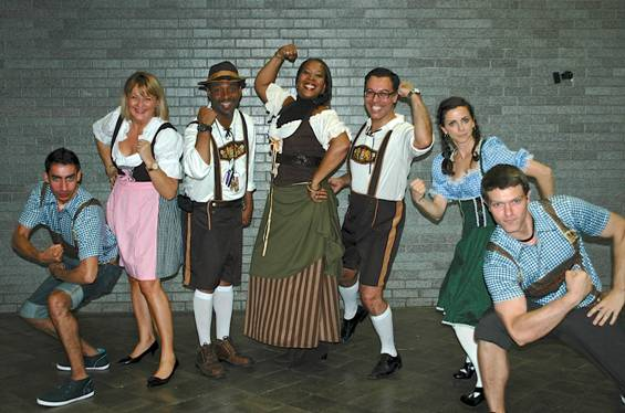 Oktoberfest celebrates the school's German language program.