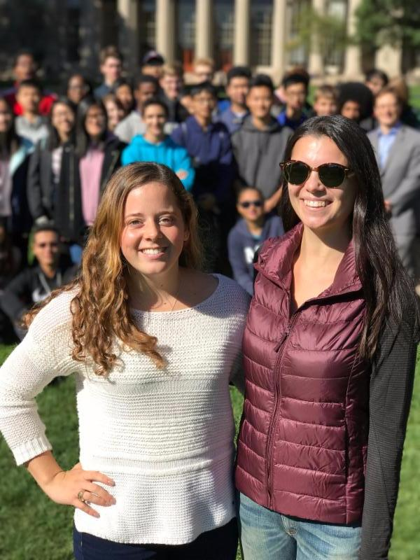 Shannon Dunn and Katie Marlowe, HSMSE '13 and MIT '17
