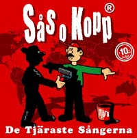 Sås och Kopp – De tjärats sångerna (CD)